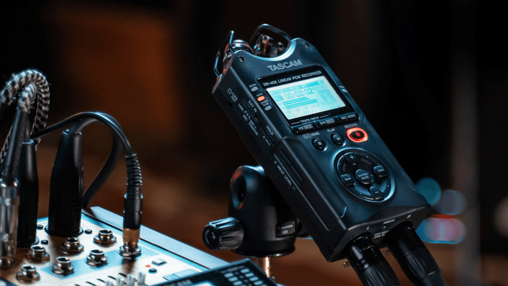 Recording a DJ mix with Tascam DR-05X