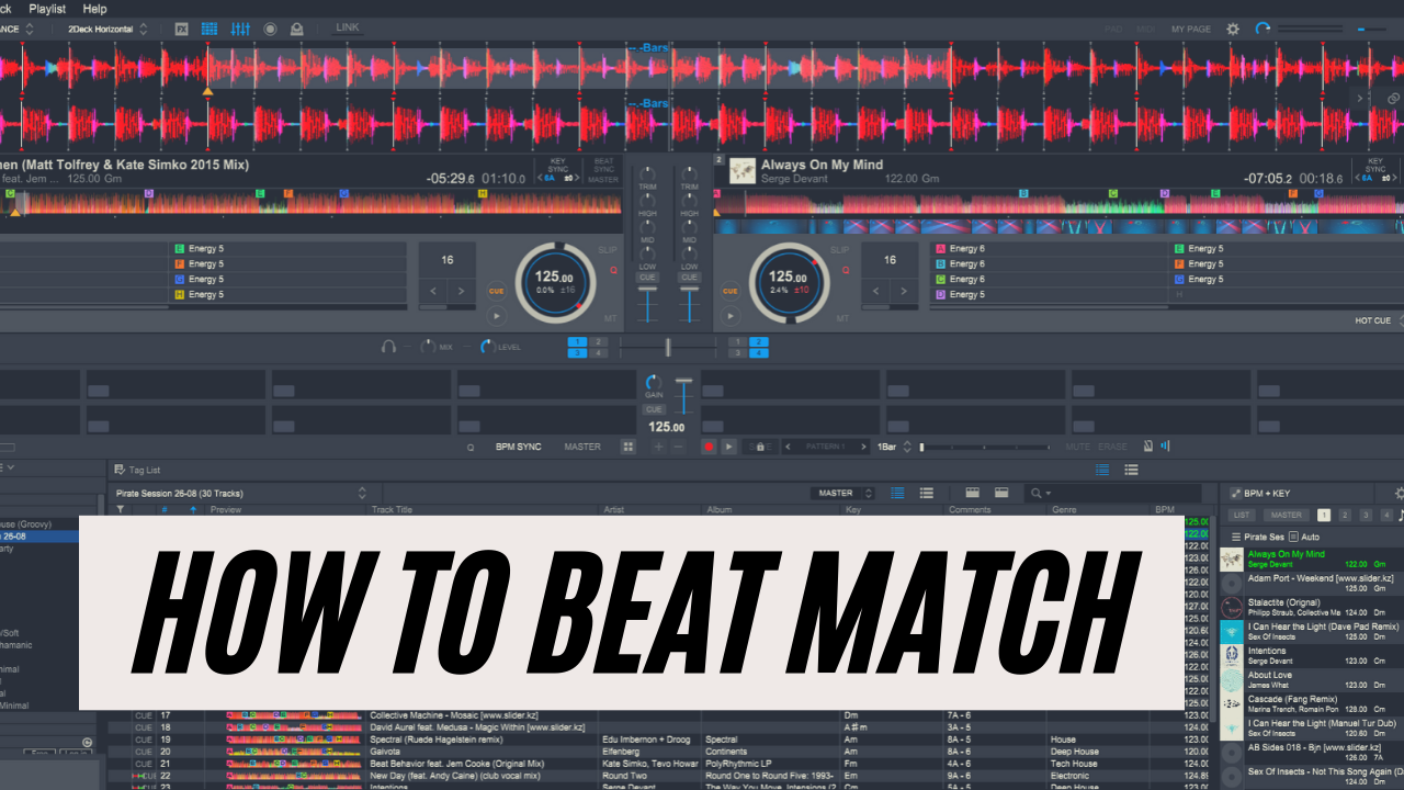 How to beat match